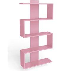 nicho decorativo rosa movelbento - rosa - dafiti