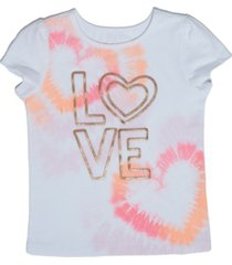 little girls graphic with text t-shirt