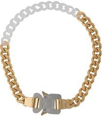 1017 alyx 9sm chunky chain choker - gold
