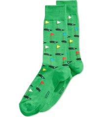 hot sox men's socks, golf crew