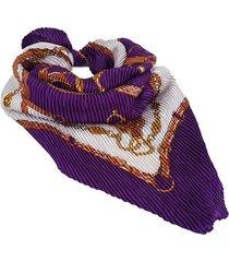 pañuelo violeta nuevas historias  plisado estribos ba1167bis-34