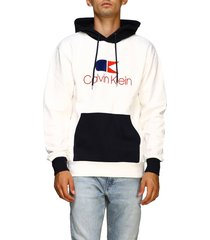calvin klein sweatshirt calvin klein sweatshirt with hood and vintage logo