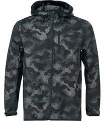 löparjacka own the run camouflage jacket