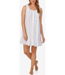 eileen west cotton chemise nightgown