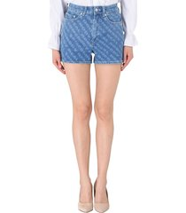wood wood denim shorts