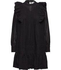 lyon dress kort klänning svart just female