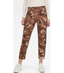 army radar mid boyfriend ankle broek