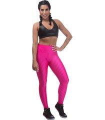 legging  miss blessed premium 3d poliamidaârosa - rosa - feminino - poliamida - dafiti