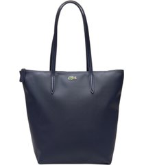 lacoste l.12.12 concept vertical shopping tote bag