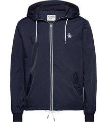 full zip hooded ratner jacket tunn jacka blå original penguin