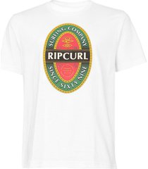 camiseta rip curl brewery branca