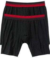 boxer lunghi (pacco da 2) (nero) - bpc bonprix collection