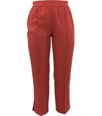 alfani petite pull-on seamed ankle pants, created for macy's