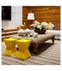 banco   banqueta amarelo nitro