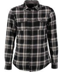 jack & jones flannel slim fit overhemd valt kleiner