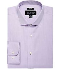 awearness kenneth cole lavender slim fit dress shirt
