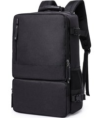 "mochila antirobo multifuncional de oxford y 16"" e-hot - negro"