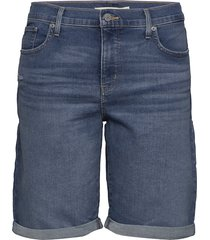 pl shaping bermuda paris rain shorts denim shorts blå levi's plus