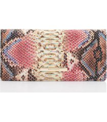 brahmin ady reina embossed leather wallet