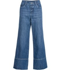 jeans larghi (blu) - rainbow
