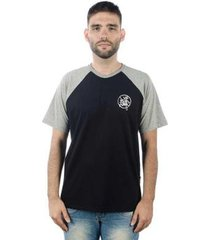 camiseta mxc brasil tag raglan - masculino