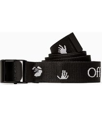 off-white new logo classic industrial belt owrb035e20fab001