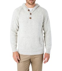 men's 7 diamonds shasta regular fit hooded sweater, size xx-large - blue