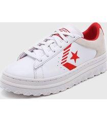 zapatilla blanca converse pro leather x2