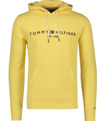tommy hilfiger sweater geel