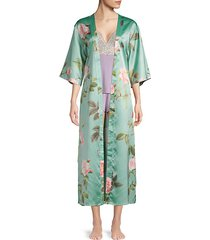 paradise floral robe