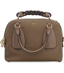 chloé daria leather crossbody bag