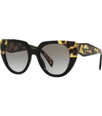 prada women's sunglasses, pr 14ws 52
