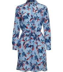 ussel jurk knielengte blauw marella