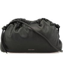 mansur gavriel leather clutch