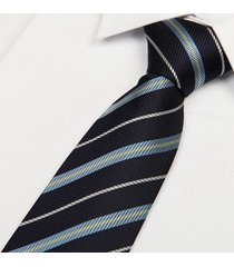 poliestere uomo jacquard arrow cravatta set clips gemelli knife gift series