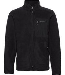 exploration™ fz fleece sweat-shirts & hoodies fleeces & midlayers zwart columbia