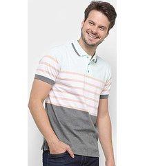 camisa polo gajang euro lyon masculina
