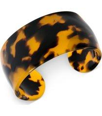 zenzii wide acetate cuff bracelet
