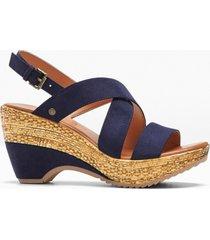sandali mustang (blu) - mustang