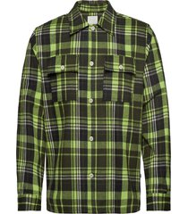 franco shirt overhemd casual groen wood wood