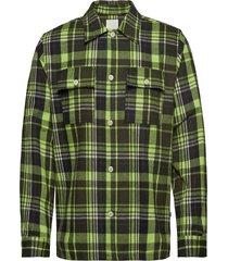 franco shirt overhemd casual groen wood wood