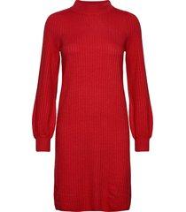 dress knitwear jurk knielengte rood taifun