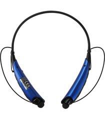 audífonos inalámbricos, auriculares audifonos bluetooth manos libres  estéreo universal con micrófono inalámbricos estilo cuello para celulares para sony iphone samsung (azul)