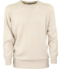loro piana girocollo seamless cashmere sweater