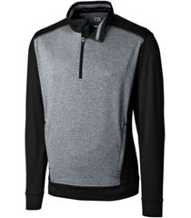 cutter & buck men's big & tall replay half zip sweatshirt