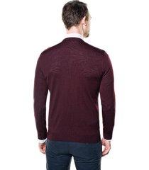 sweter vetica półgolf bordo
