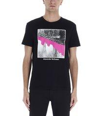 alexander mcqueen alexander mcqueen japan blossom t-shirt