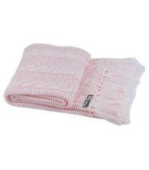 peseira com franja cama solteiro sala sofa 150cmx60cm cod 1032.8 rosa bb