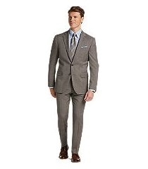 1905 collection slim fit glen plaid oraganica® wool men's suit with brrr°® comfort by jos. a. bank