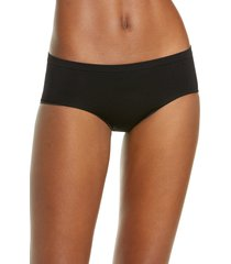 women's b.tempt'd by wacoal comfort intended daywear hipster panties, size small - black